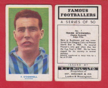 Blackpool Frank O`Donnell Scotland 7